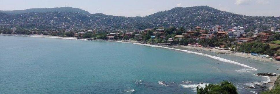 La Ropa strand, Zihuatanejo, Guerrero, Mexico