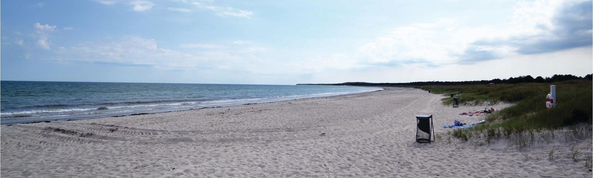 Grenå Strand, Grenaa, Region Midtjylland, Danmark