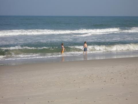 Sea Dunes, Carolina Beach, NC, USA