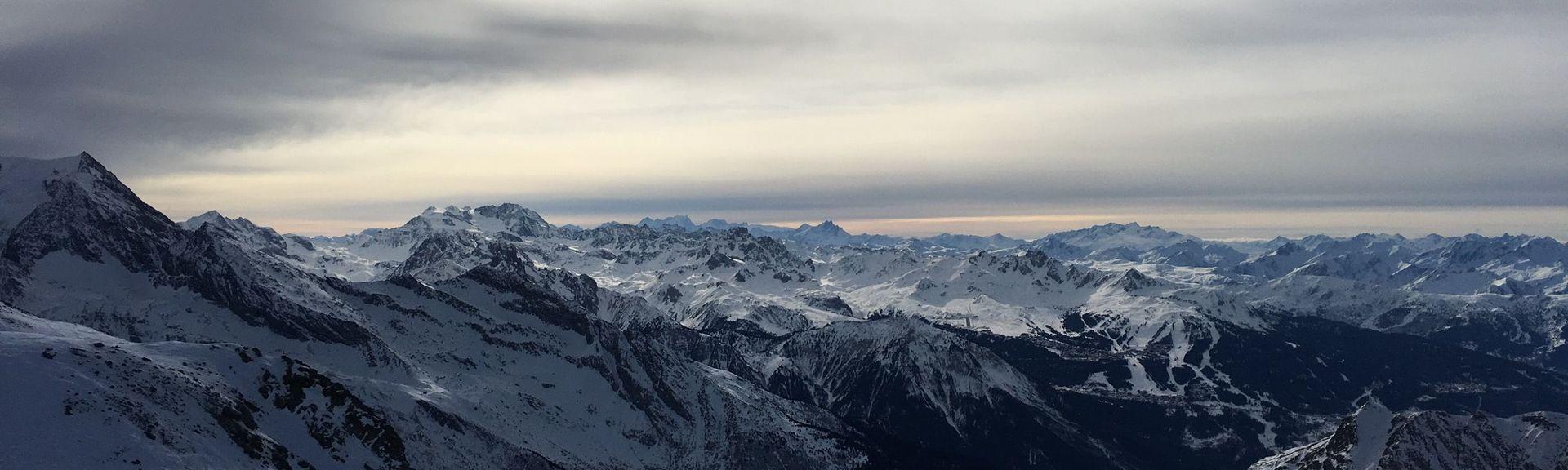 Belle Plagne, Macot-la-Plagne, Auvergne-Rhône-Alpes, Frankrike