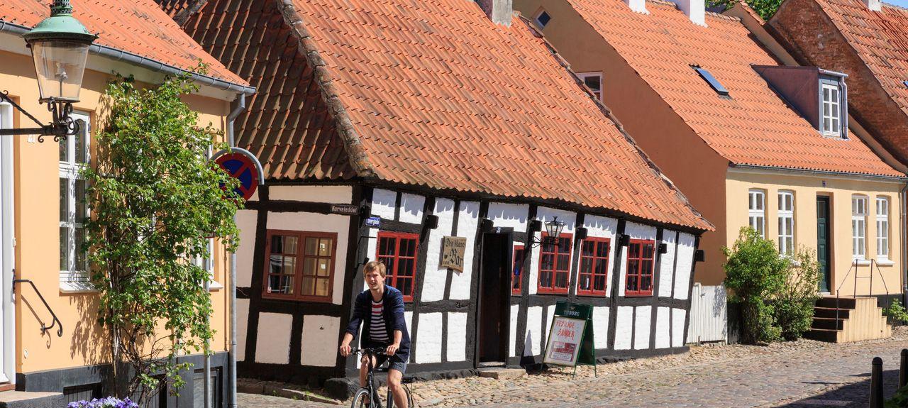 Ebeltoft, Jutland-Central, Danemark
