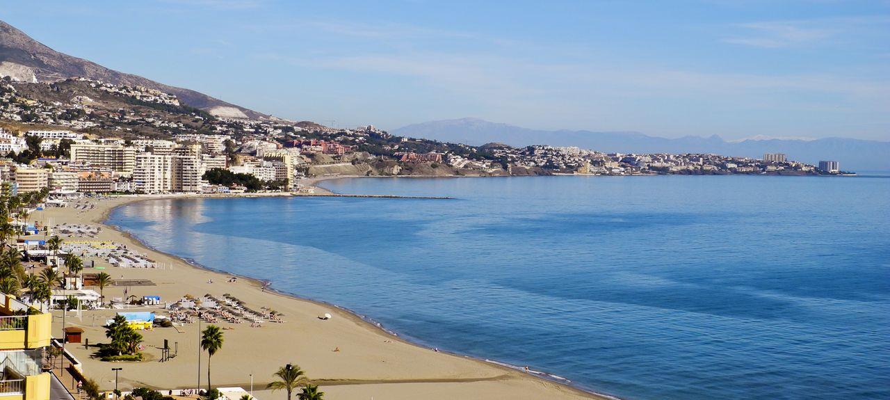 Costa del Sol, Costa del Sol Occidental, Andalusië, Spanje