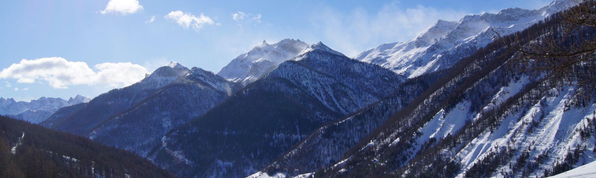 L'Argentiere-la-Bessee, Hautes-Alpes, France