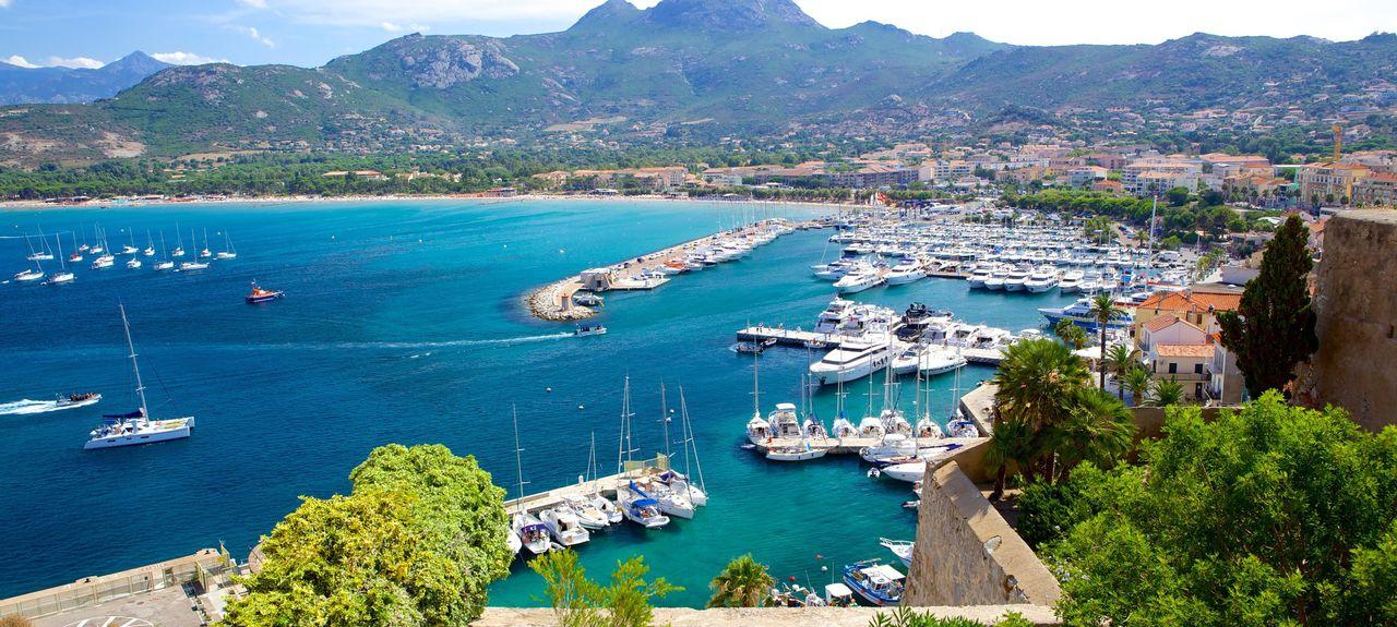 Calenzana, Korsika, Frankreich