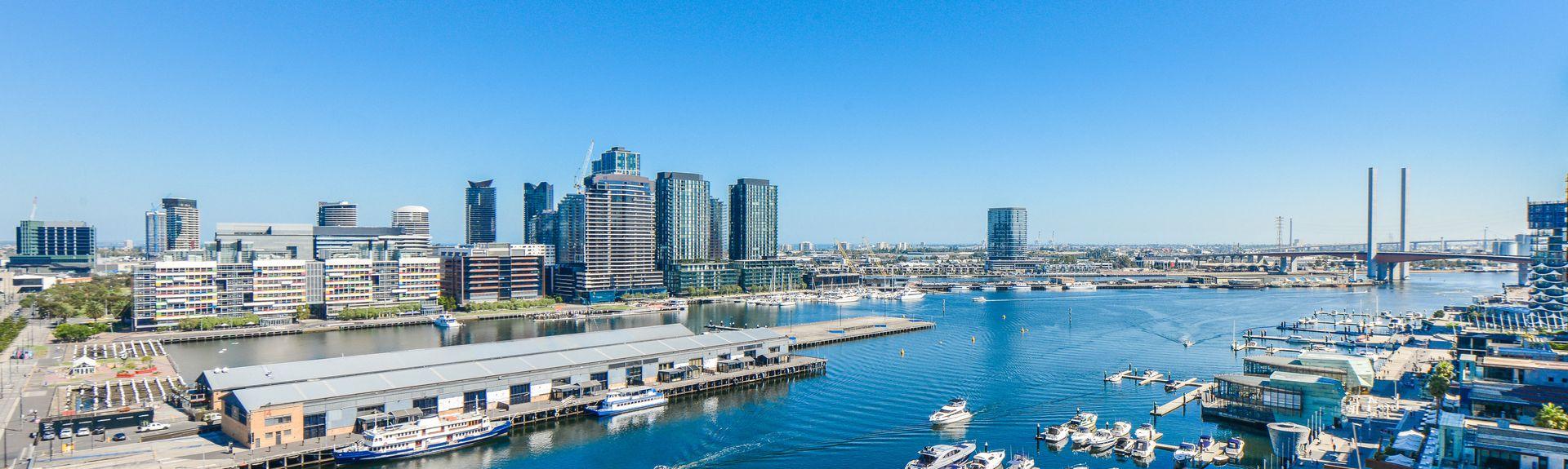 Docklands, Melbourne, Victoria, Australien