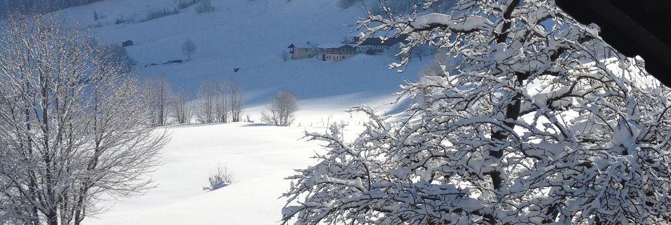 Kammerköhrin hiihtohissi, Waidring, Tiroli, Itävalta