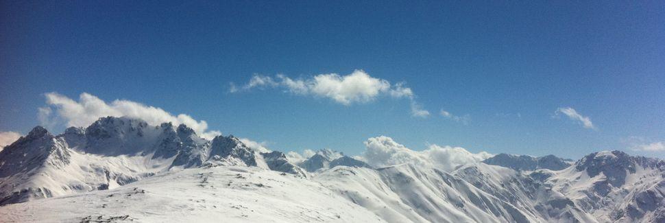 Sent, Scuol, Graubünden, Zwitserland