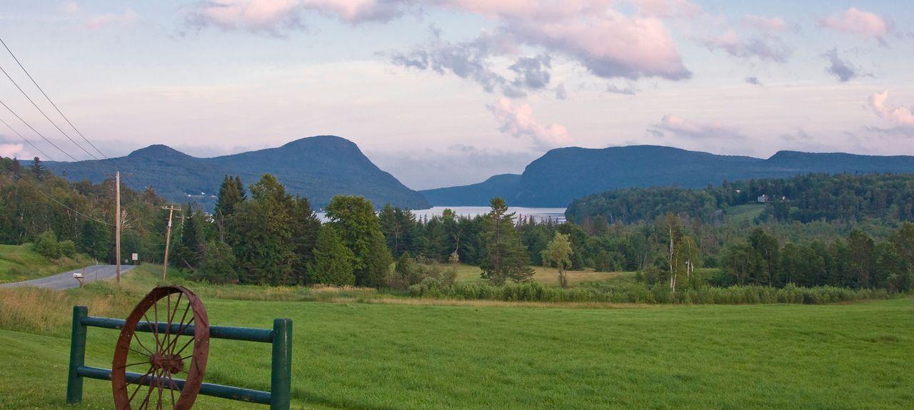 Lake Willoughby, Vermont, États-Unis d'Amérique