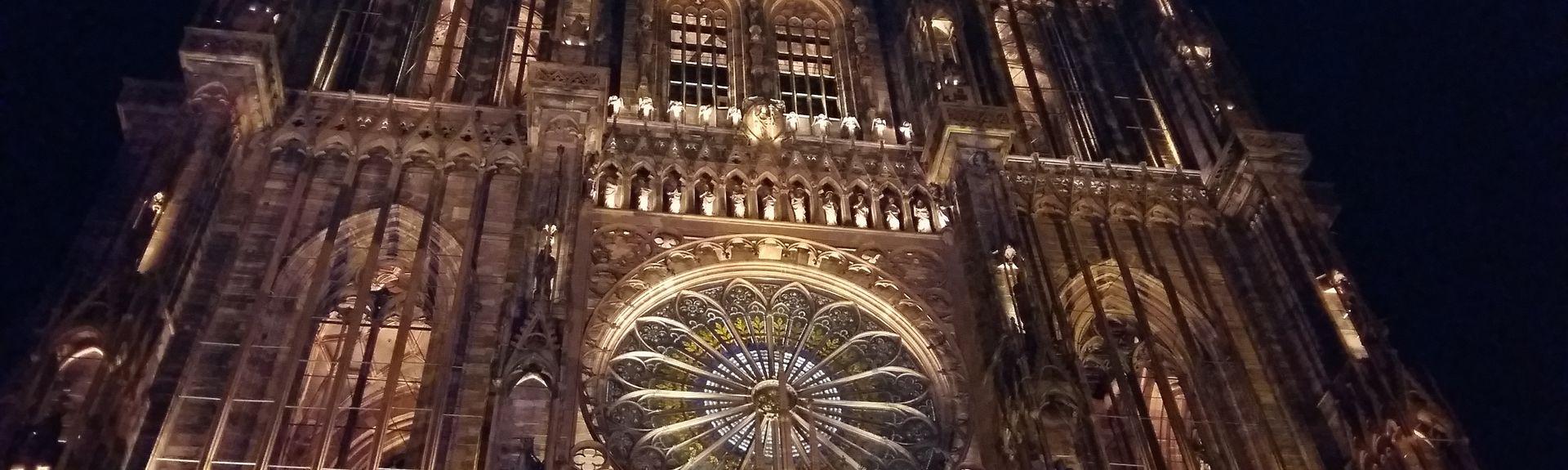 Quartier de la Cathédrale, Strasbourg, Bas-Rhin (département), France
