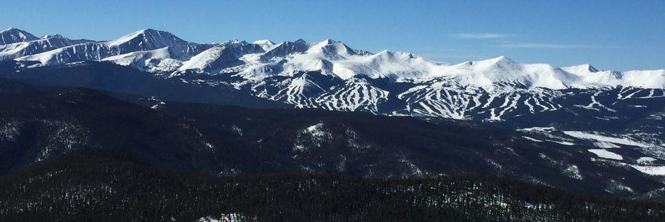 Breckenridge Peak 7, Colorado, États-Unis d'Amérique
