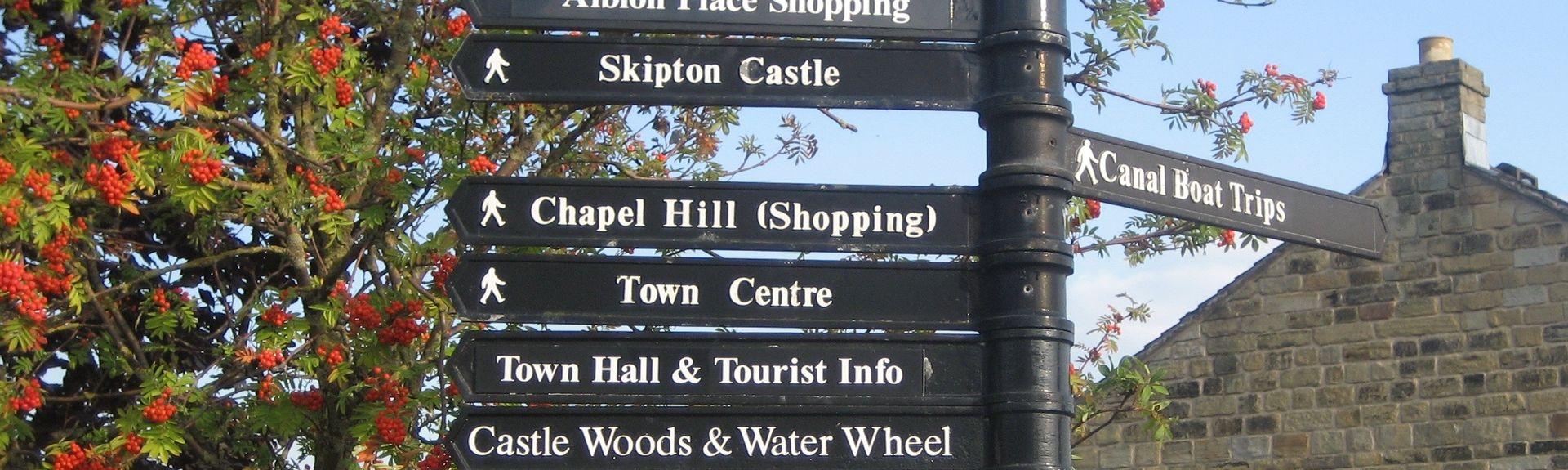 Haworth, Cross Roads and Stanbury, UK
