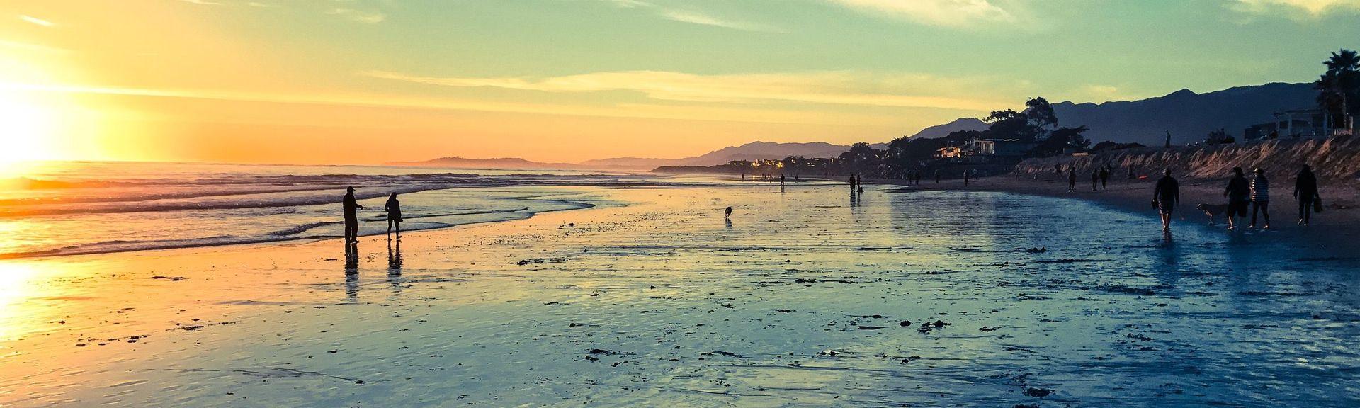 Carpinteria State Beach, Carpinteria, CA, USA