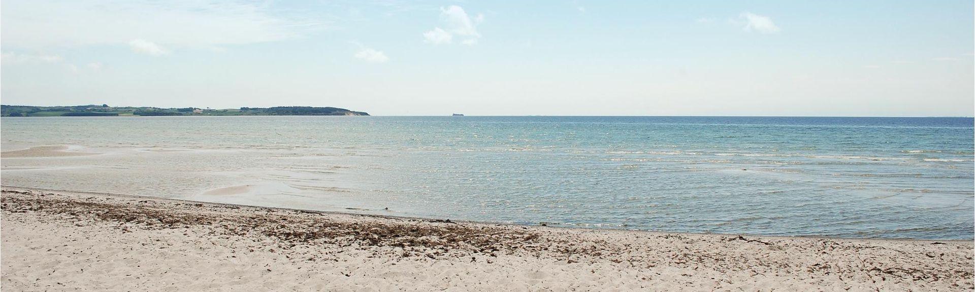 Ebeltoft strand, Ebeltoft, Region Midtjylland, Danmark