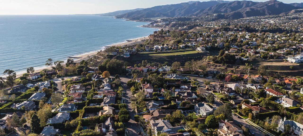 Pacific Palisades, Los Angeles, Californie, États-Unis d'Amérique