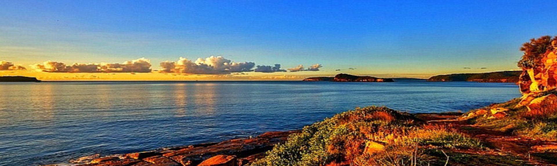 Plage de Magenta Shores, Magenta Shores, Nouvelle-Galles-du-Sud, Australie