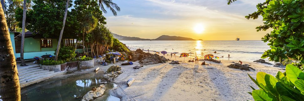 Patongin ranta, Patong, Phuket, Thaimaa