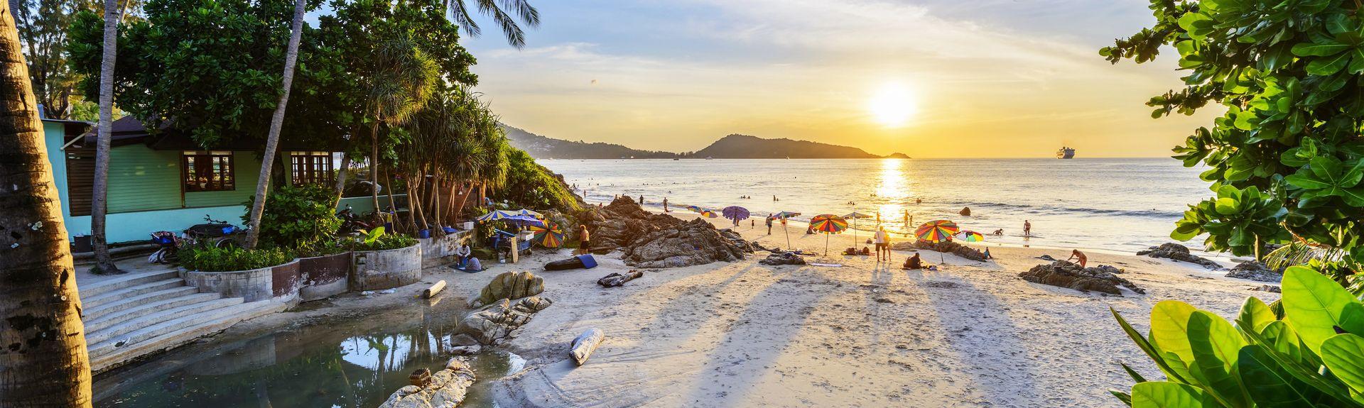 Plage de Patong, Patong, Province de Phuket, Thaïlande