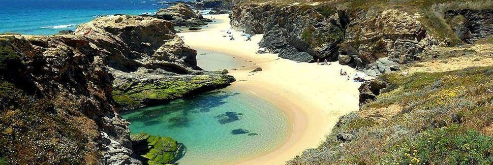 Praia da Lagoa de Santo André, Portugal