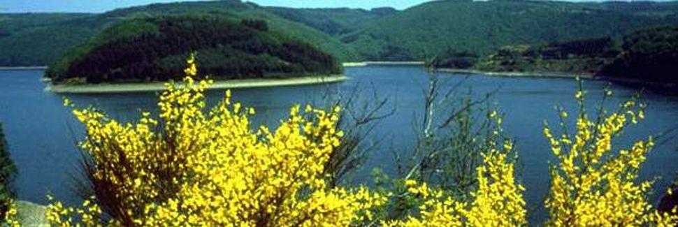Lac de la Haute-Sûre, Wiltz, Diekirch, Luxembourg