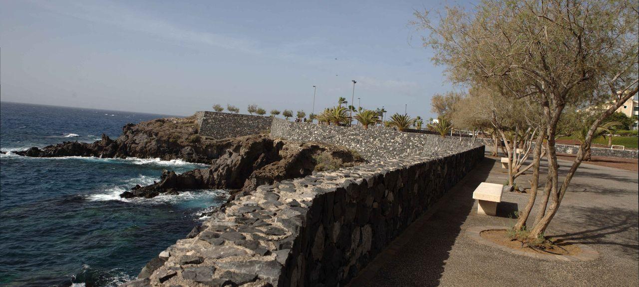 Plage d'Alcala, Guía de Isora, Îles Canaries, Espagne