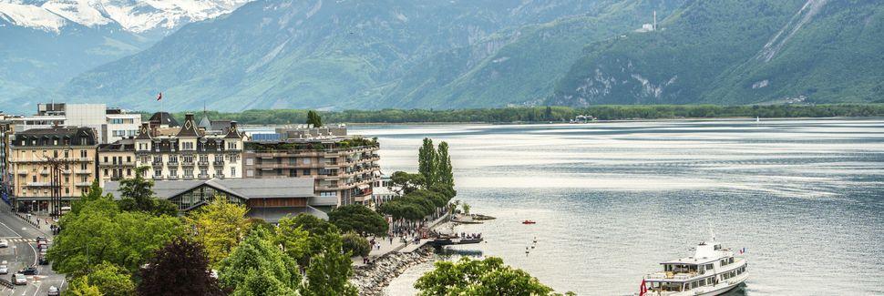 Lake Geneva, Europe