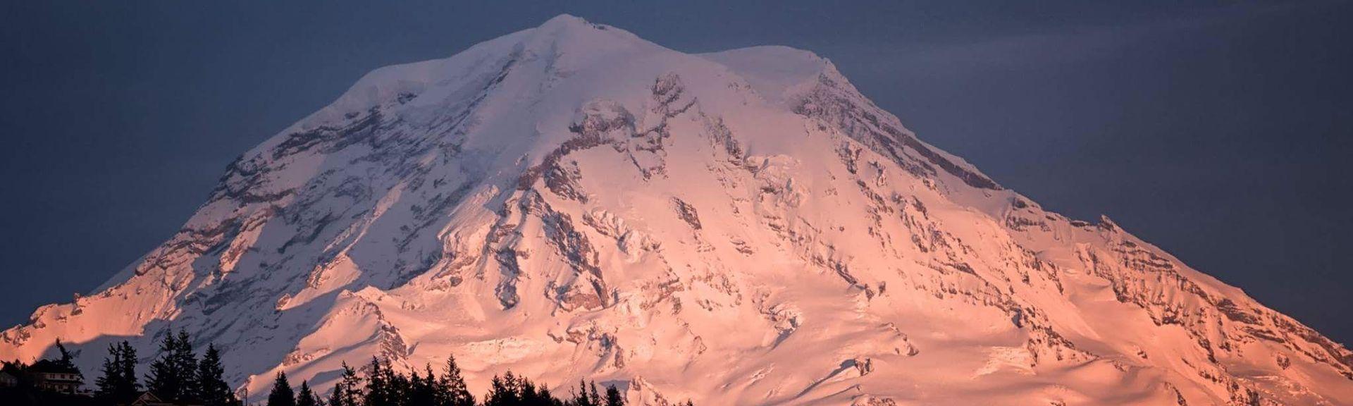 Mount Rainier National Park, WA, USA