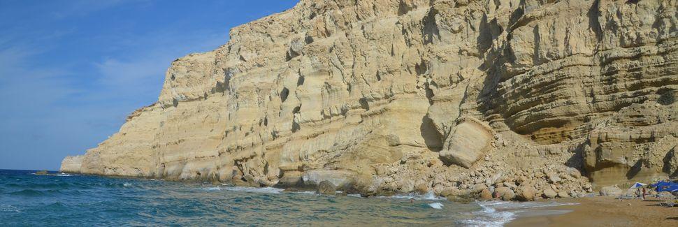 Matala, Crète, Grèce