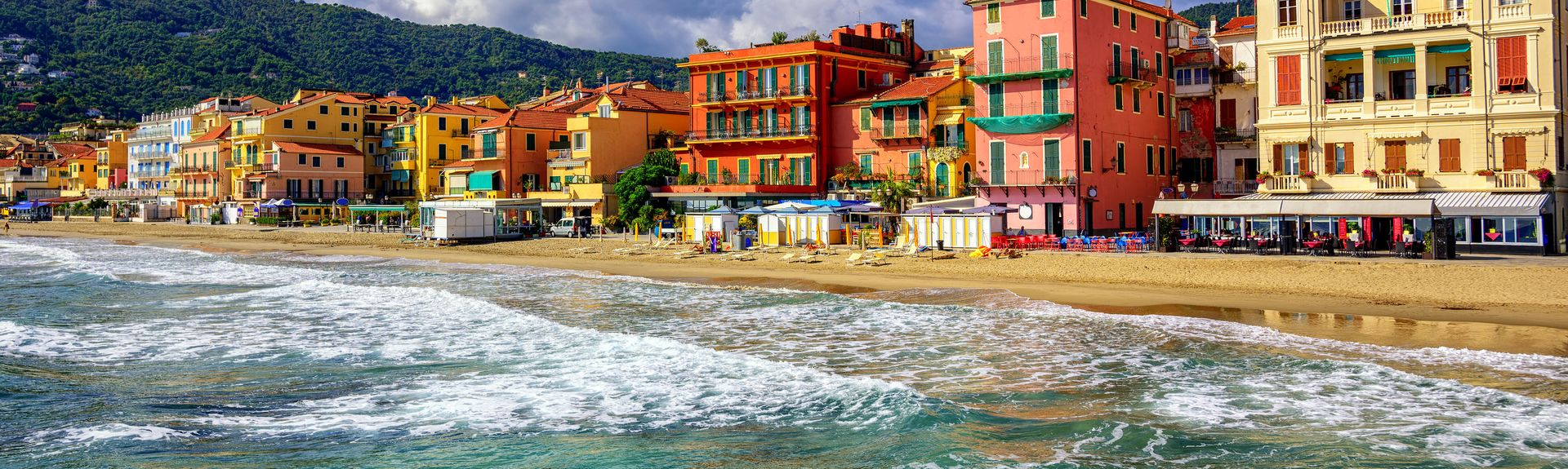 Alassio, Savona, Liguria, Italy