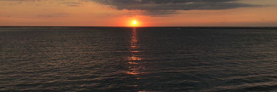 Anglesea, North Wildwood, New Jersey, États-Unis d'Amérique