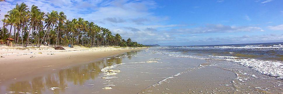 Cururupe Strand, Ilheus, Bahia, Brasilien