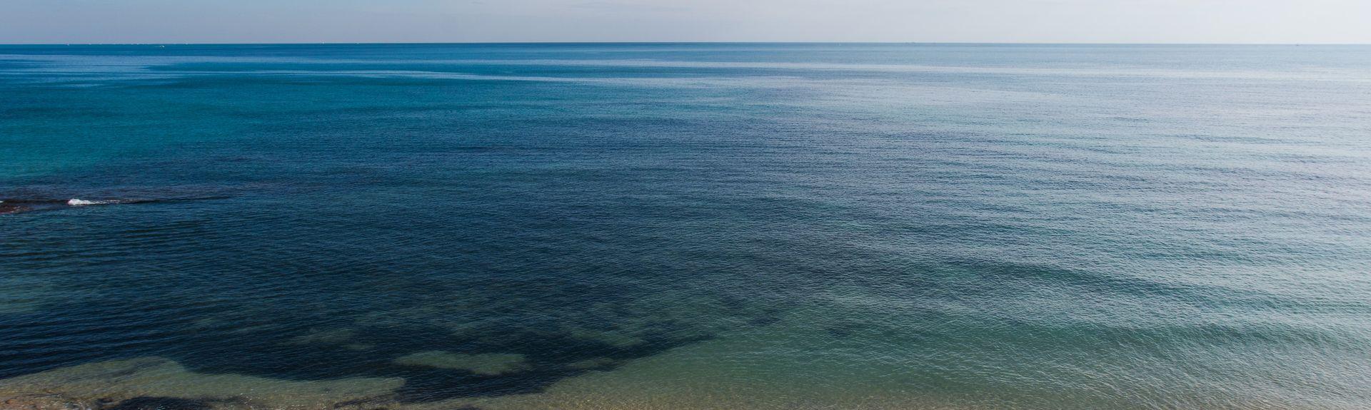La Zenia-stranden, La Zenia, La Valenciana, Spania