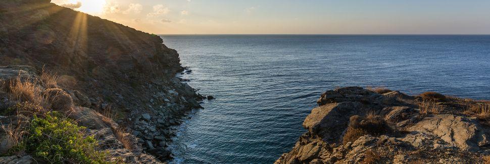 Delfini, Egeanmeren saaret, Kreikka