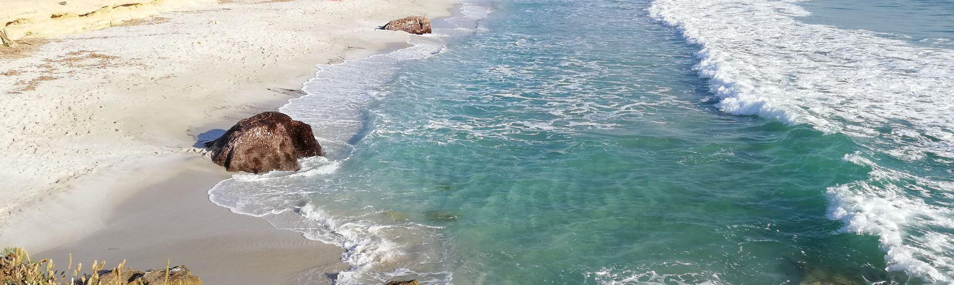 Spiaggia di Is Arutas, Cabras, Sardegna, Italia