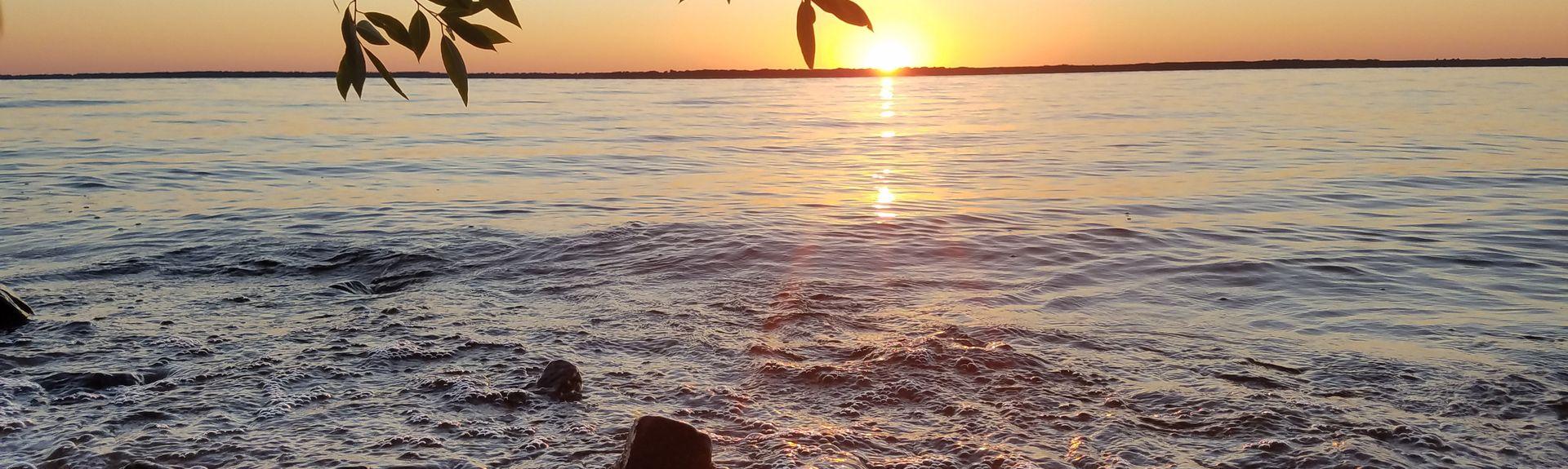 Glacial Lake Cranberries, Wisconsin Rapids, WI, USA