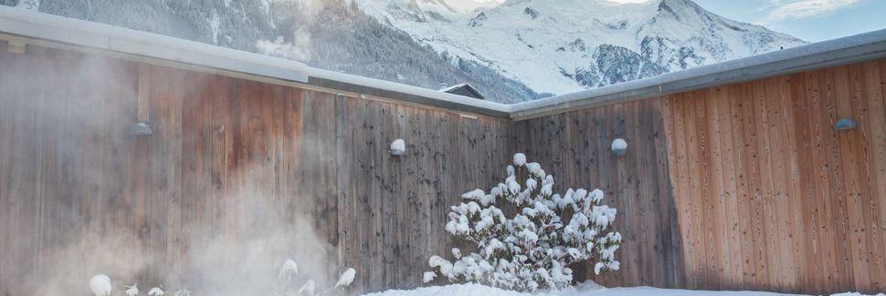 Courmayeur taubane, Courmayeur, Aostadalen, Italia