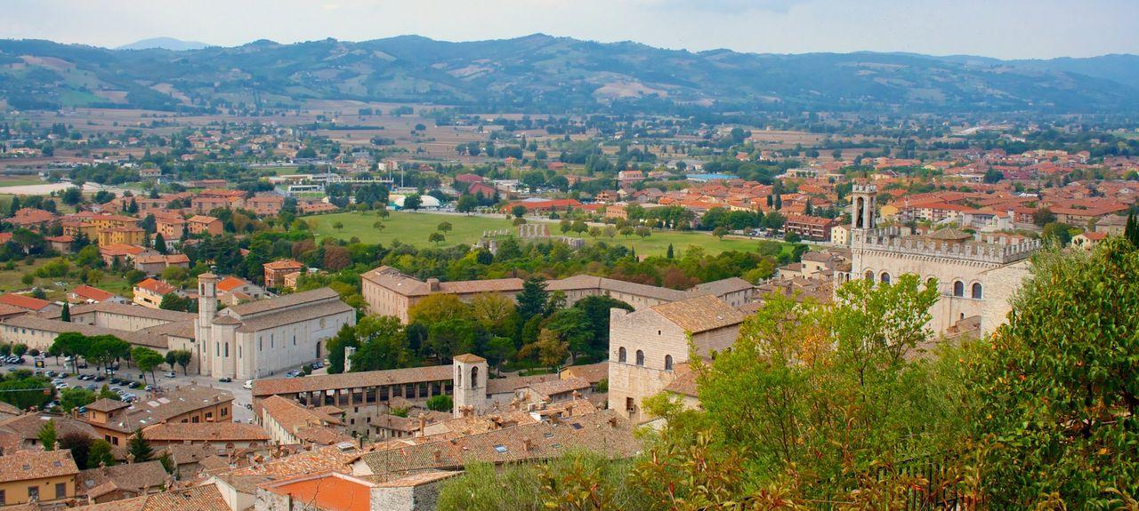 Gubbio, Umbria, Italia