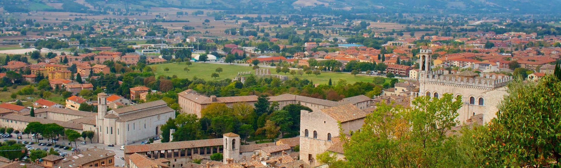 Gubbio, Umbrië, Italië