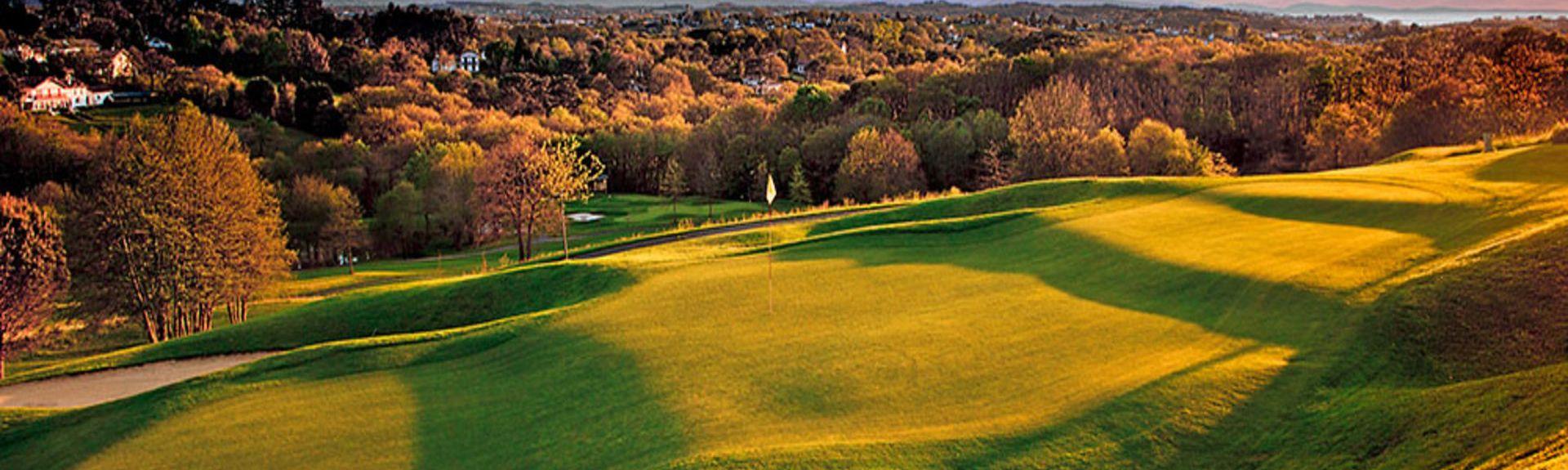 Golf d'Hossegor, Soorts-Hossegor, Landes (dipartimento), Francia