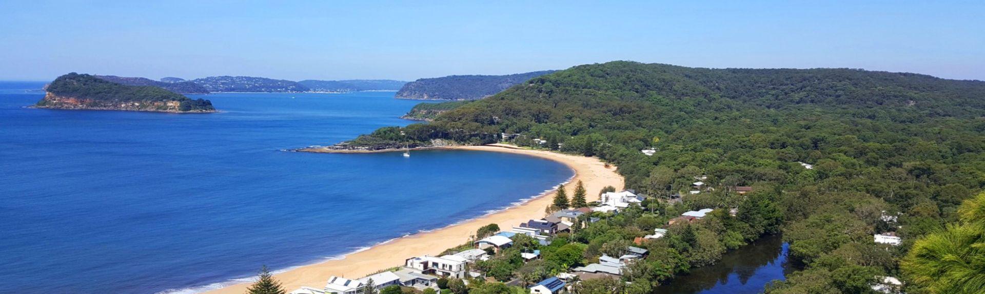 Spiaggia di Toowoon Bay, Nuovo Galles del Sud, Australia