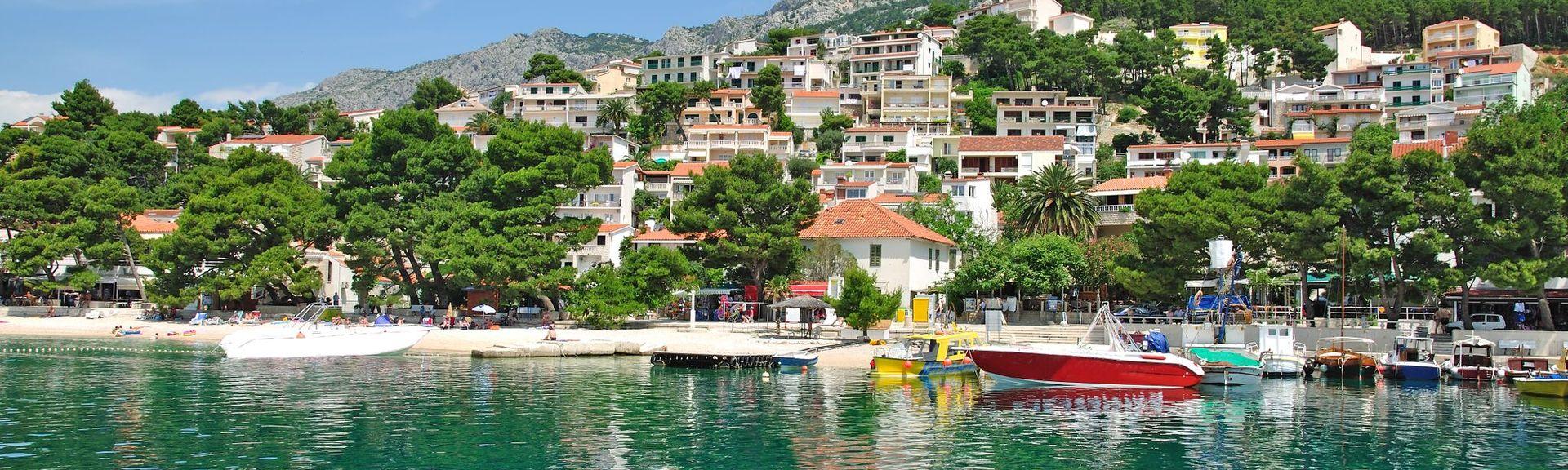 Brela, Split-Dalmatiens län, Kroatien