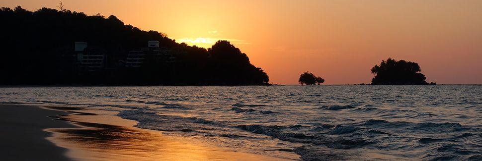 Bang Taon ranta, Choeng Thale, Phuket, Thaimaa