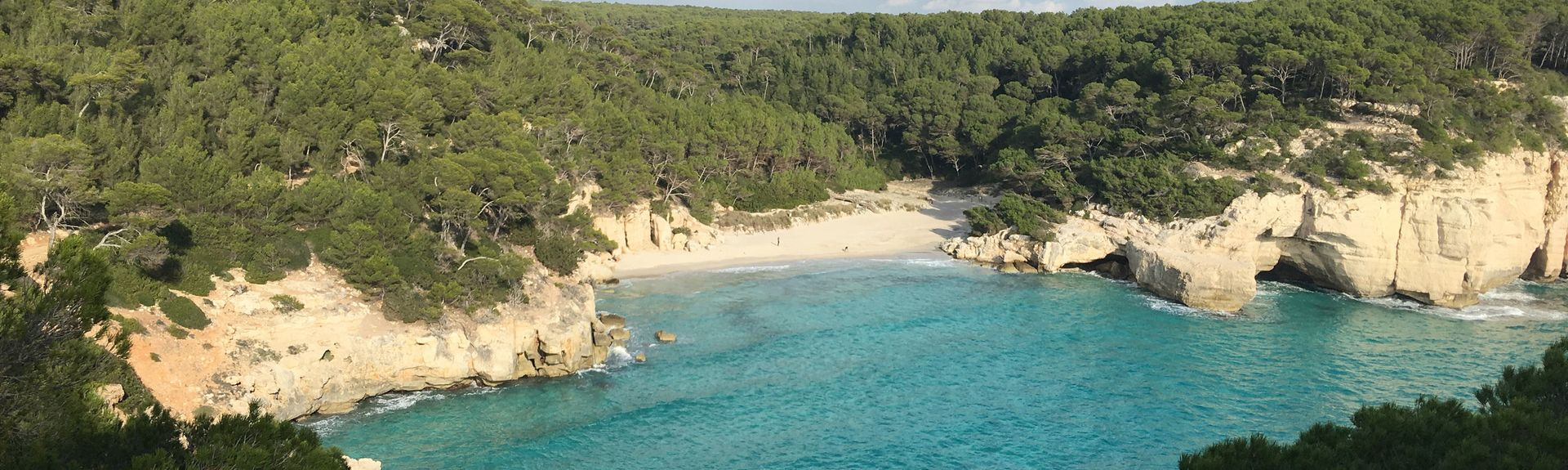 Cala Mitjana Beach, Ferreries, Balearic Islands, Spain