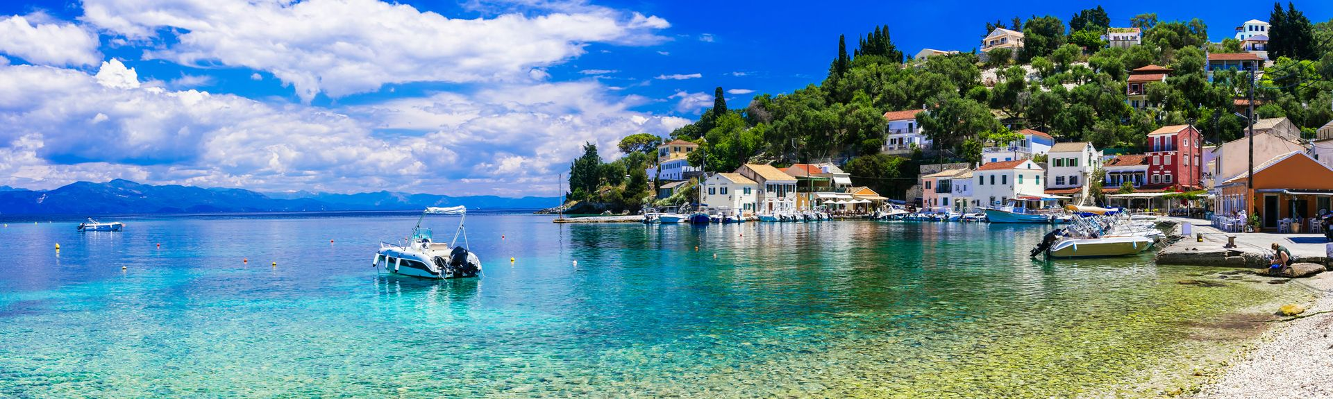 Paxos, Peloponnese, West Greece and Ionian Sea, Grekland