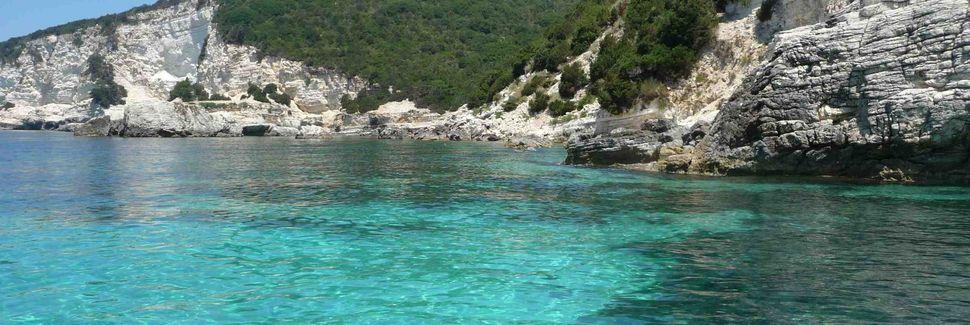 Antipaxos, Administração Descentralizada do Peloponeso, Grécia Ocidental e Ilhas Jónicas, Grécia