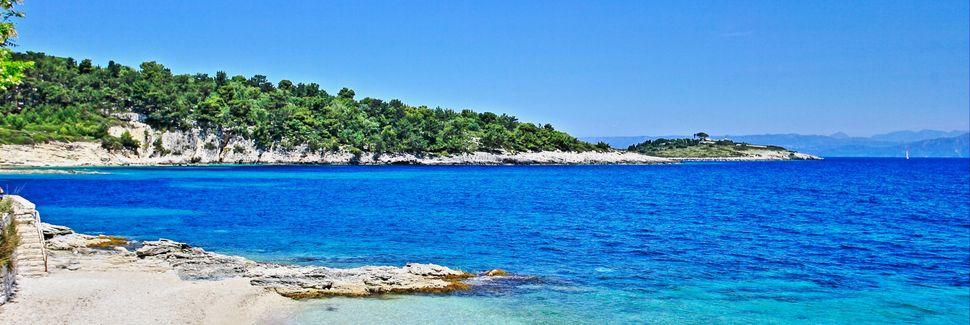 Avlakin ranta, Paxoí, Peloponnesos, Kreikka