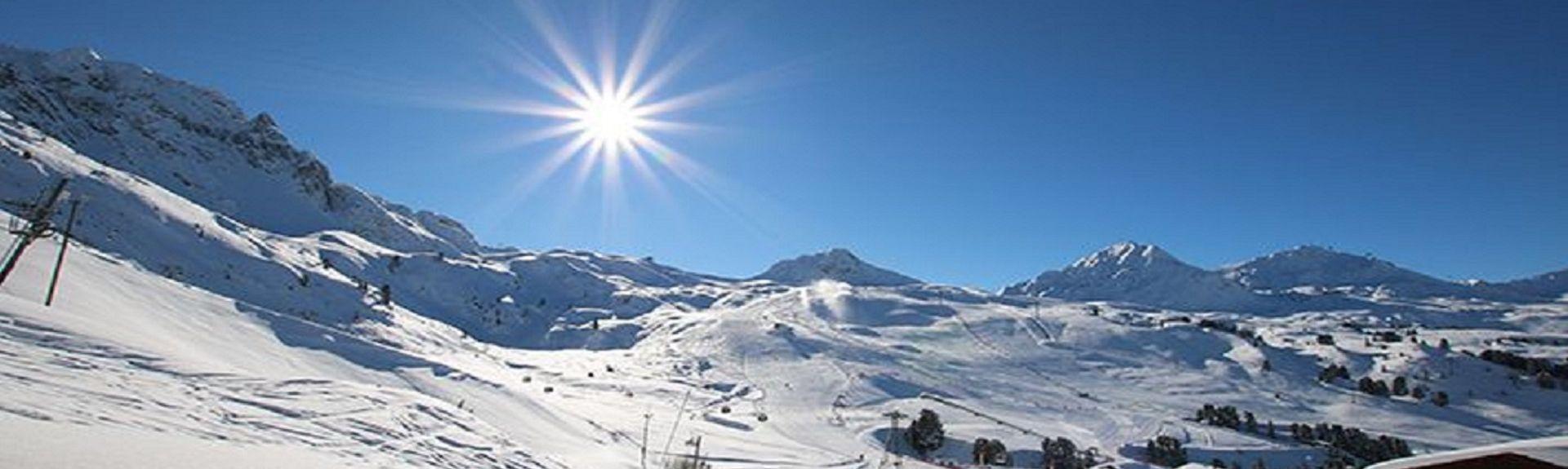 L'Altispace Skilift, Les Avanchers-Valmorel, Auvergne-Rhône-Alpes, Frankrig