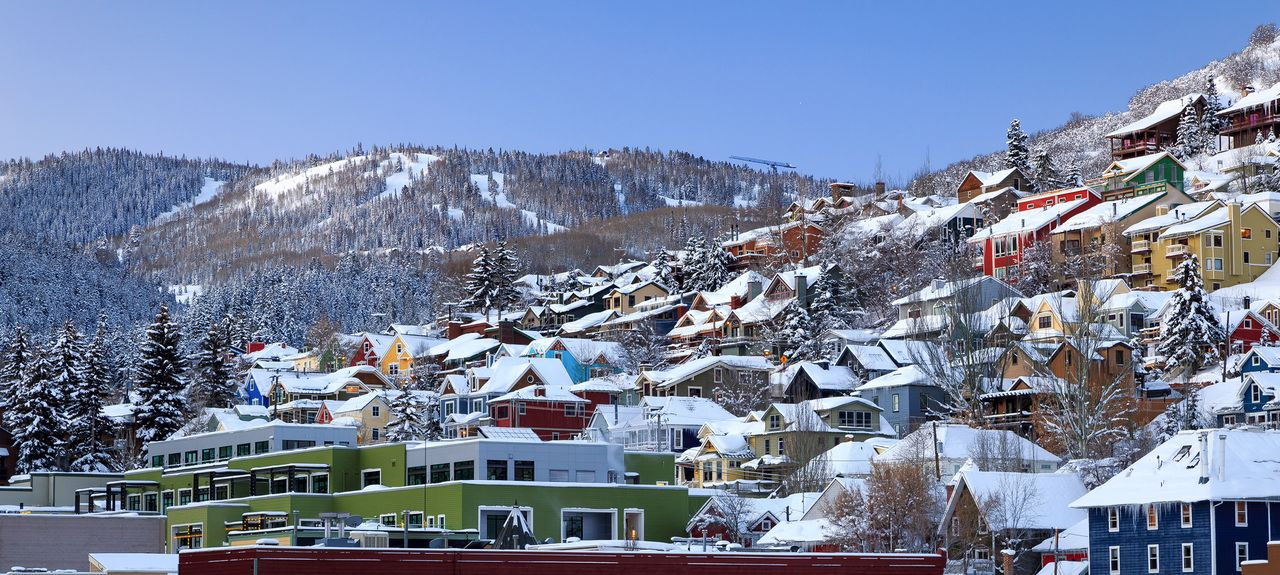 Old Town, Park City, UT, USA