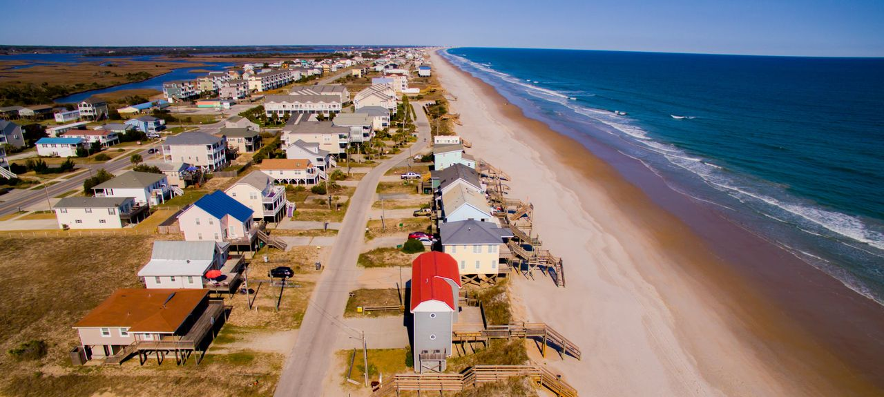 Topsail Island North Carolina United States