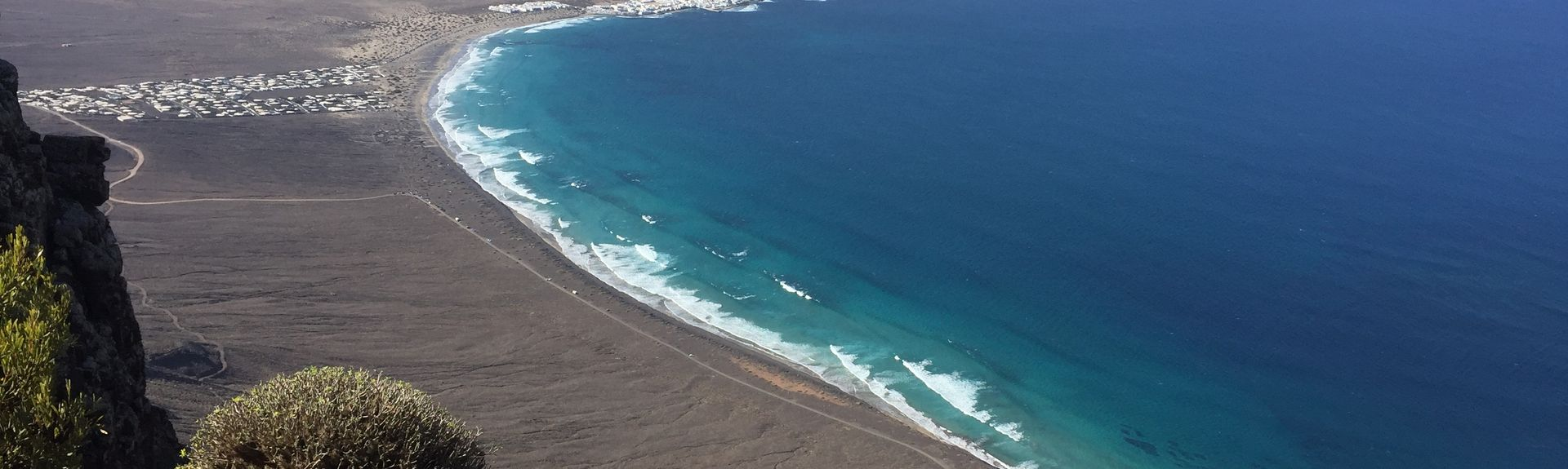 Las Cucharas Beach, Teguise, Spain