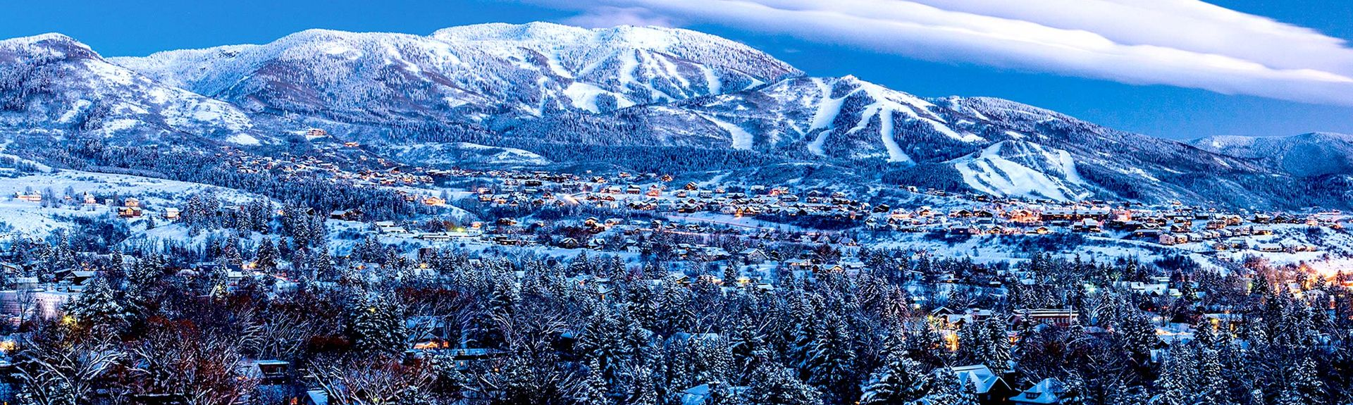 Old Town, Steamboat Springs, Colorado, États-Unis d'Amérique